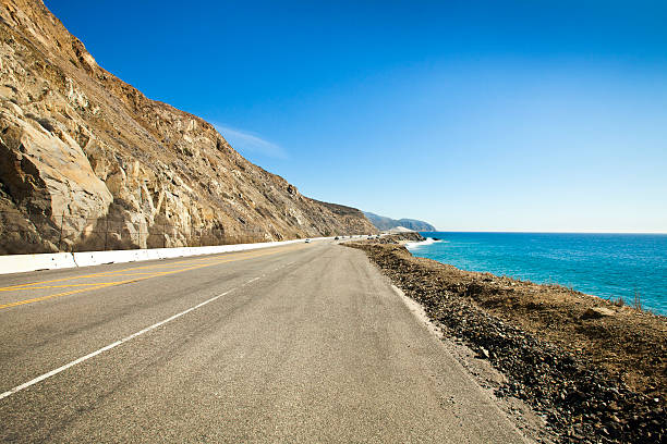 Pacific Coast Highway north of Malibu, California:スマホ壁紙(壁紙.com)