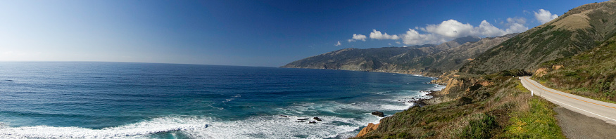 Big Sur「Pacific Coast Highway between Los Angeles and San Francisco, California」:スマホ壁紙(0)
