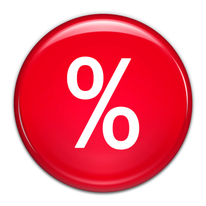 Percentage Sign「Percentage Button (with clipping path)」:スマホ壁紙(15)
