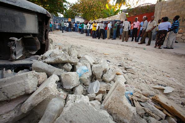 Rubble「Haitians Vote In Presidential Run-Off Election」:写真・画像(8)[壁紙.com]