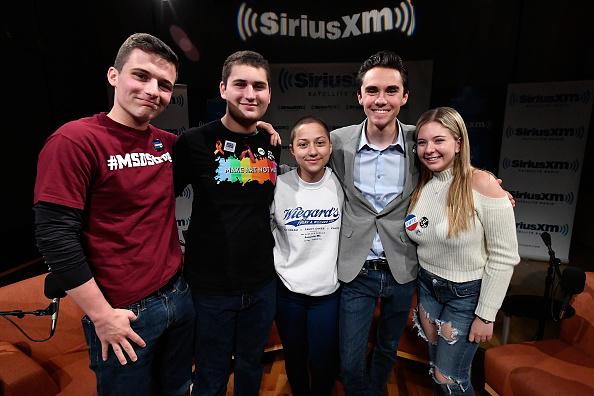 Activist「Dan Rather Hosts A SiriusXM Roundtable Special Event With Parkland, Florida, Marjory Stoneman Douglas High School Students And Activists Emma Gonzalez, David Hogg, Cameron Kasky, Alex Wind And Jaclyn Corin」:写真・画像(16)[壁紙.com]