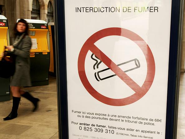 Forbidden「France Introduce Smoking Ban In Public Places」:写真・画像(16)[壁紙.com]