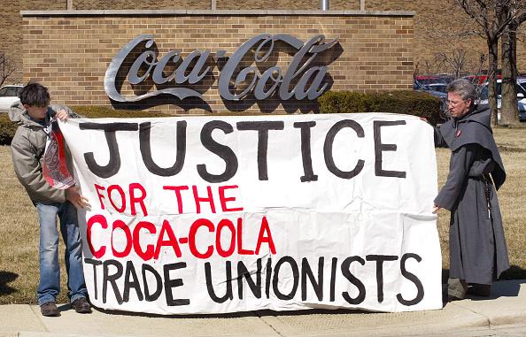 Tim Boyle「Coca-Cola Workers In Colombia Begin Hunger Strike」:写真・画像(10)[壁紙.com]