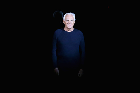 ブランド ジョルジオアルマーニ「Emporio Armani - Runway - Milan Fashion Week Womenswear Autumn/Winter 2014」:写真・画像(3)[壁紙.com]