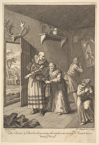 Animal Body Part「The Curate And The Barber Disguising Themselves To Convey Don Quixote Home (Six I」:写真・画像(18)[壁紙.com]