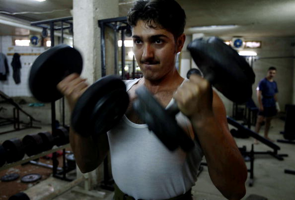 Weights「Iraqis Practice Kyokushin Karate In Baghdad」:写真・画像(12)[壁紙.com]
