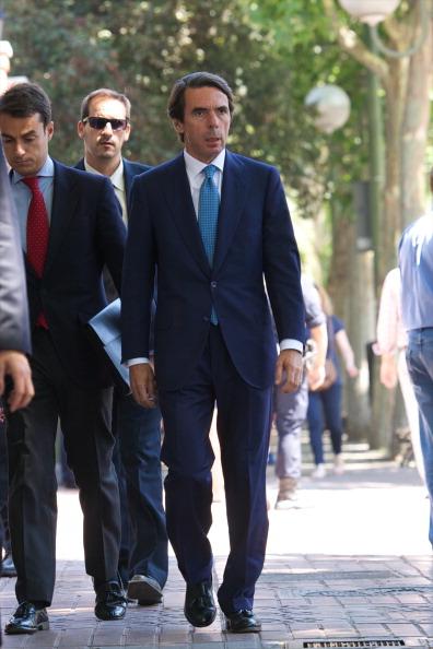 Jose Maria Aznar「Prince Felipe of Spain Arrives at Elcano Institute in Madrid」:写真・画像(18)[壁紙.com]
