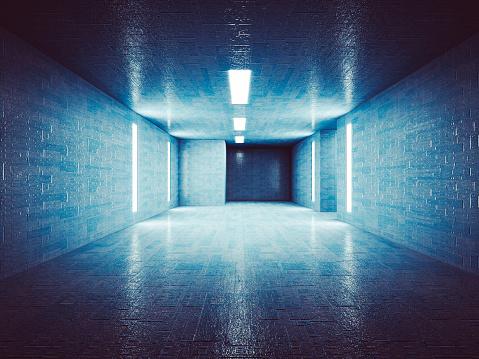Military「Secret underground corridor」:スマホ壁紙(12)