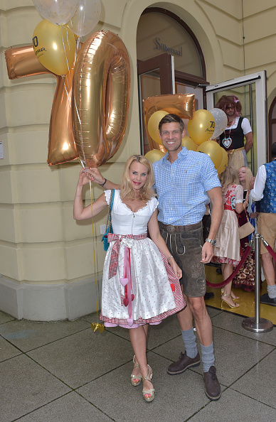 Denim Shorts「Angermaier Celebrates 70th Anniversary In Munich」:写真・画像(8)[壁紙.com]