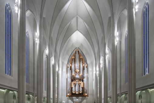Basalt「Hallgrâ??mskirkja Church, Reykjavik, Iceland」:スマホ壁紙(16)