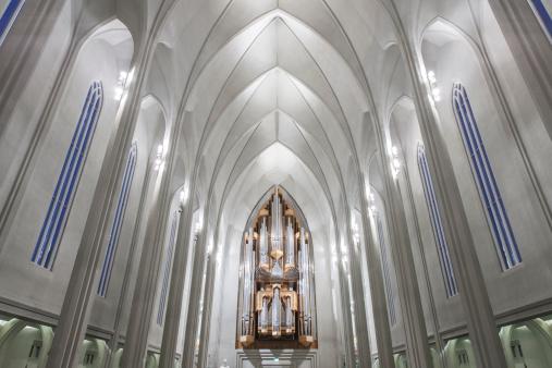 Basalt「Hallgrâ??mskirkja Church, Reykjavik, Iceland」:スマホ壁紙(12)