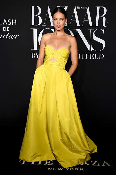 """Yellow Dress「Harper's BAZAAR Celebrates """"ICONS By Carine Roitfeld"""" At The Plaza Hotel Presented By Cartier - Arrivals」:写真・画像(18)[壁紙.com]"""