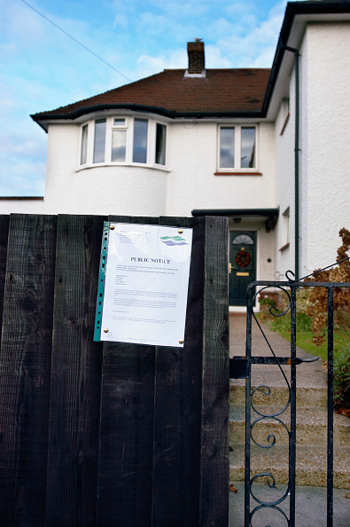 Danger「Public notice referring to planning permission on a semi-detached house.」:写真・画像(8)[壁紙.com]