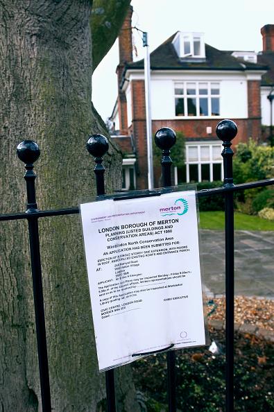 Danger「Public notice referring to planning permission on a domestic property, Borough of Merton, London」:写真・画像(9)[壁紙.com]