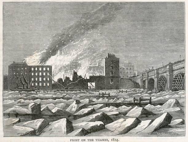 Frost On The River Thames:ニュース(壁紙.com)