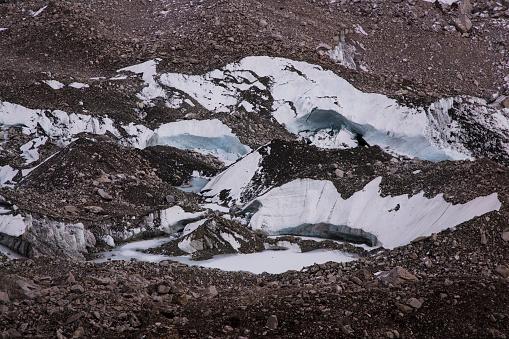 Khumbu Glacier「Khumbu Glacier and Icefall from Kala Patthar, Gorak Shep, Everest Base Camp Trek, Nepal」:スマホ壁紙(11)