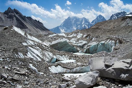 Khumbu Glacier「Khumbu Glacier in Nepal Himalayas」:スマホ壁紙(10)
