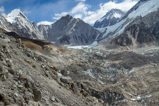 Khumbu Glacier「Khumbu Glacier in Nepal Himalayas」:スマホ壁紙(3)