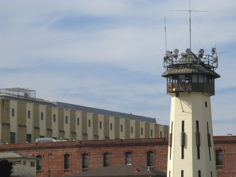 Prison「Prison San Quentin Guard Lookout Tower California」:スマホ壁紙(6)