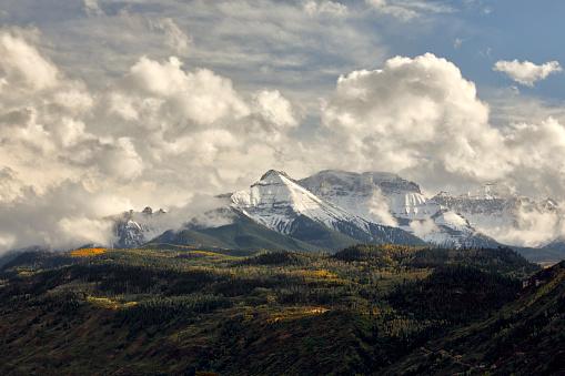 Uncompahgre National Forest「Sneffels Range in autumn」:スマホ壁紙(5)
