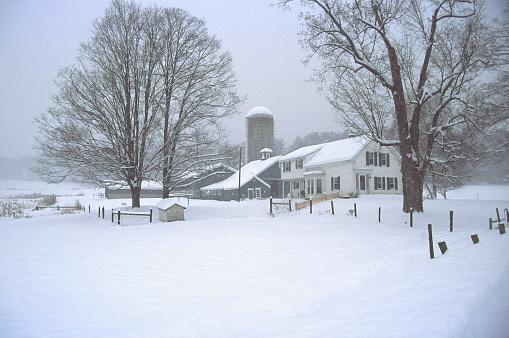 雪「冬景色の」:スマホ壁紙(6)