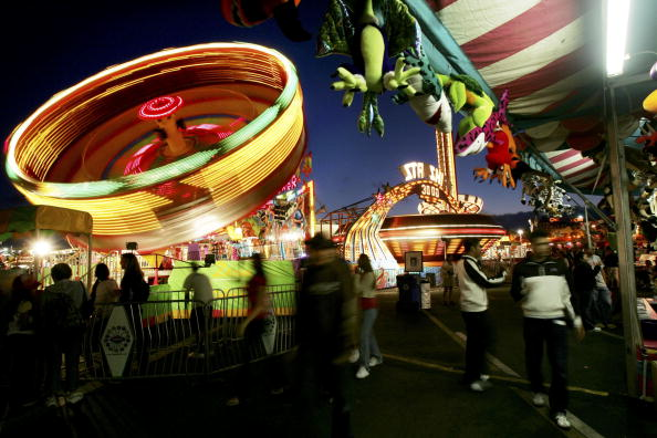 Amusement Park Ride「The San Diego County Fair Comes to Southern California」:写真・画像(8)[壁紙.com]
