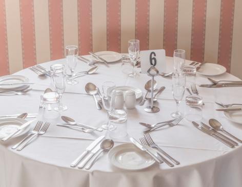 Fork「Formal table setting」:スマホ壁紙(10)