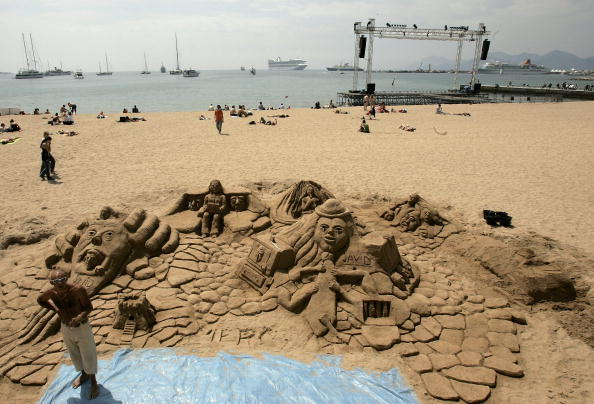 Sand Sculpture「59th Annual Cannes Film Festival - Around Cannes」:写真・画像(16)[壁紙.com]