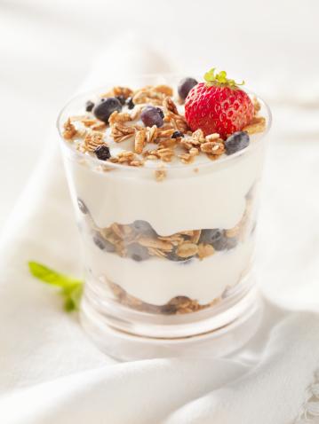 Granola「Yogurt Parfait with Fresh Fruit」:スマホ壁紙(7)