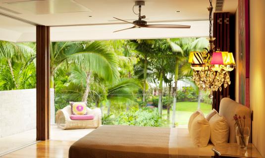 Ceiling Fan「Tropical House」:スマホ壁紙(19)