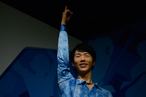 Yuzuru Hanyu「Visitors 'Dance' With Hologram Celebrities In Tokyo」:写真・画像(1)[壁紙.com]
