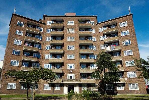 Skyscraper「Peabody Trust housing, Oval, South London, UK」:写真・画像(7)[壁紙.com]