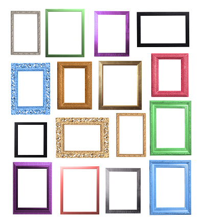 Turquoise Colored「Colourful Frame Selection」:スマホ壁紙(18)