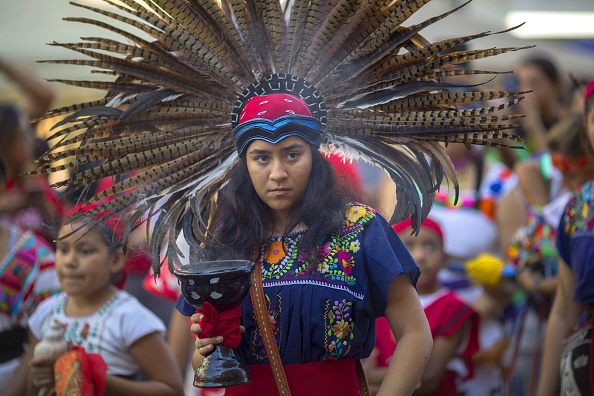 Hollywood - California「Native American Activists Celebrate Decision To Mark Columbus Day In LA County As Indigenous Peoples Day Starting 2019」:写真・画像(13)[壁紙.com]