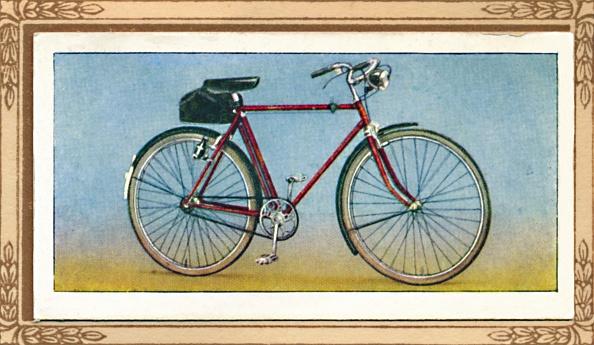 Cigarette Card「Light Roadster Bicycle」:写真・画像(10)[壁紙.com]