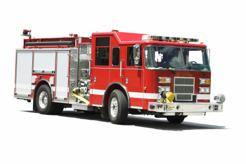 Emergency Services Occupation「Isolated Fire Truck」:スマホ壁紙(13)
