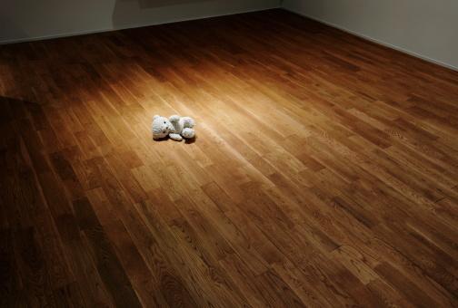 Lost「Teddy bear lying on the floor」:スマホ壁紙(15)