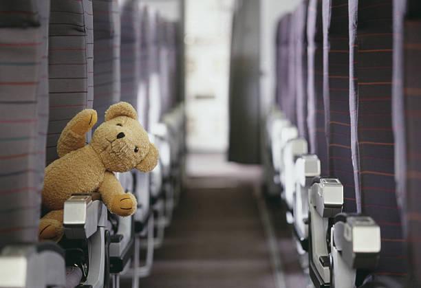 Teddy Bear in Aisle Seat:スマホ壁紙(壁紙.com)