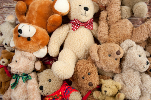 Stuffed Animals「Teddy Bear Bunch」:スマホ壁紙(4)