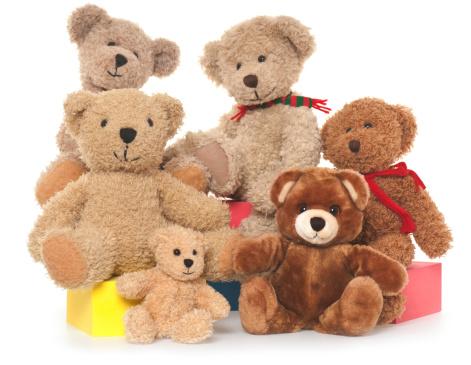 Stuffed Animals「Teddy Bear Family」:スマホ壁紙(6)