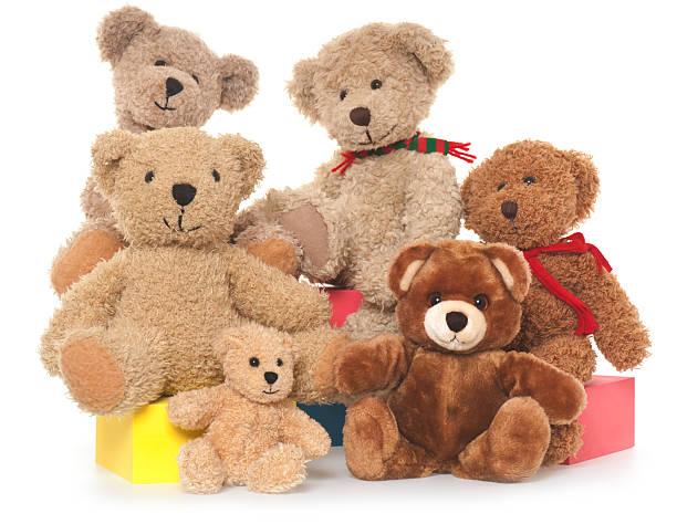 Teddy Bear Family:スマホ壁紙(壁紙.com)