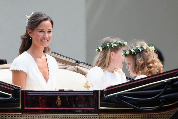 Grace van Cutsem「Royal Wedding - Carriage Procession To Buckingham Palace And Departures」:写真・画像(11)[壁紙.com]