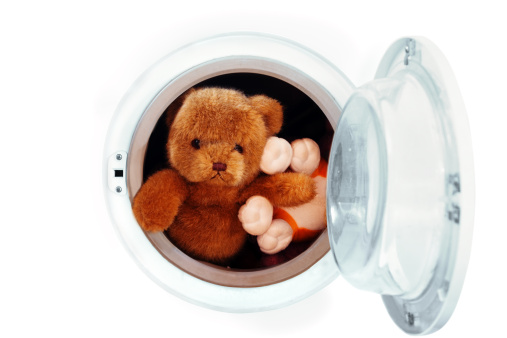 Laundry「Toys in washing machine」:スマホ壁紙(5)