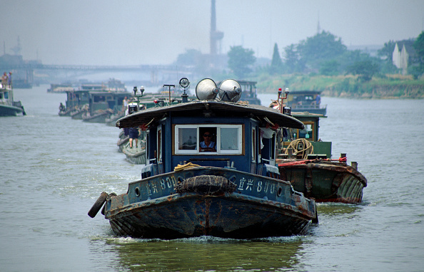 21st Century「Boats on Grand Canal, Wuxi, Silk Road, China」:写真・画像(4)[壁紙.com]
