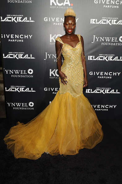 Yellow Dress「11th Annual Keep A Child Alive Black Ball」:写真・画像(3)[壁紙.com]