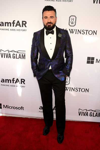 Purple Blazer「2015 amfAR Inspiration Gala New York - Arrivals」:写真・画像(1)[壁紙.com]
