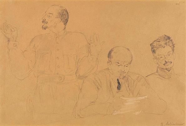 Pencil「Anatoly Lunacharsky (1875-1933)」:写真・画像(17)[壁紙.com]