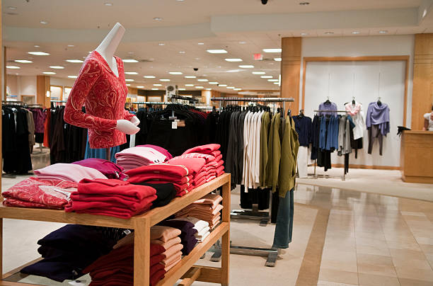 Empty woman's clothing store.:スマホ壁紙(壁紙.com)