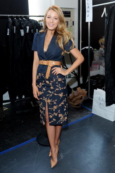 Skirt「Michael Kors - Backstage - Mercedes-Benz Fashion Week Fall 2014」:写真・画像(7)[壁紙.com]