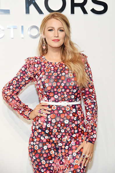 Blake Lively「Michael Kors Collection Fall 2017 Runway Show - Front Row」:写真・画像(19)[壁紙.com]